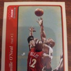 Coleccionismo deportivo: SHAQUILLE O'NEAL 213 NBA FLEER TRADITION 2004-05 MIAMI HEAT. Lote 222250482