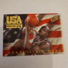 Coleccionismo deportivo: SHAQUILLE O'NEAL 2 NBA FLEER ULTRA TEAM USA 1993-94. Lote 222251080