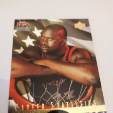 Coleccionismo deportivo: SHAQUILLE O'NEAL 5 NBA UPPER DECK USA BASKETBALL DELUXE GOLD EDITION 1996. Lote 222251337