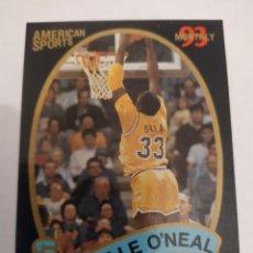 Coleccionismo deportivo: SHAQUILLE O'NEAL NCAA AMERICAN SPORTS LSU LOUISIANA STATE UNIVERSITY. Lote 222254082