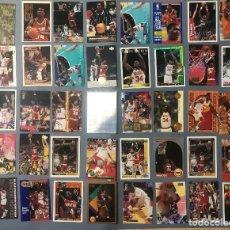 Coleccionismo deportivo: LOTE DE 40 NBA TRADING CARDS DE HAKEEM OLAJUWON. Lote 222275015