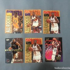 Coleccionismo deportivo: NBA TRADING CARDS FLEER ULTRA INSERTS LOTE. Lote 222285967