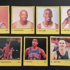 Coleccionismo deportivo: MICHAEL JORDAN 1988 SUPERSPORT MÁS 6 STICKERS USADOS. Lote 222315121