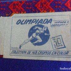 Collezionismo sportivo: SOBRE VACÍO OLIMPIADA JUEGOS Y DEPORTES. RUIZ ROMERO 1957. RARO.. Lote 222436802