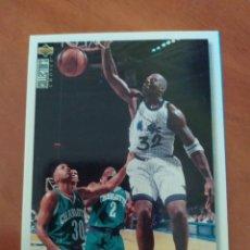 Coleccionismo deportivo: SHAQUILLE O'NEAL 286 NBA UPPER DECK COLLECTORS CHOICE 1995-96 ORLANDO MAGIC. Lote 222661060