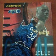 Coleccionismo deportivo: SHAQUILLE O'NEAL 338 NBA FLEER 1995-96 ORLANDO MAGIC. Lote 222663550