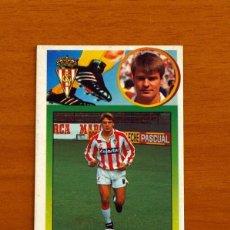 Coleccionismo deportivo: SPORTING DE GIJÓN - ESCAICH - COLOCA - EDICIONES ESTE 1993-1994, 93-94 - NUNCA PEGADO - DE CARTÓN. Lote 222750472