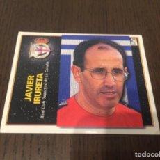 Coleccionismo deportivo: IRURETA ENTRENADOR - DEPORTIVO DE LA CORUÑA - 98 99 1998 1999 - EDICIONES ESTE - NUNCA PEGADO. Lote 222836136