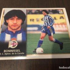 Coleccionismo deportivo: BONNISSEL - DEPORTIVO DE LA CORUÑA - 98 99 1998 1999 - EDICIONES ESTE - NUNCA PEGADO. Lote 222856658
