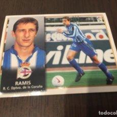 Coleccionismo deportivo: RAMIS - DEPORTIVO DE LA CORUÑA - 98 99 1998 1999 - EDICIONES ESTE - NUNCA PEGADO. Lote 222856695