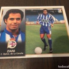Coleccionismo deportivo: ZIANI - DEPORTIVO DE LA CORUÑA - 98 99 1998 1999 - EDICIONES ESTE - NUNCA PEGADO. Lote 222856746