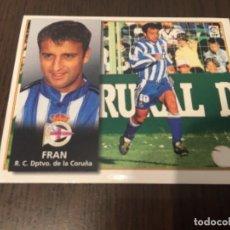 Coleccionismo deportivo: FRAN - DEPORTIVO DE LA CORUÑA - 98 99 1998 1999 - EDICIONES ESTE - NUNCA PEGADO. Lote 222856883