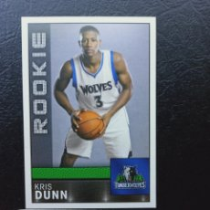 Coleccionismo deportivo: 266 KRIS DUNN ROOKIE 2016 2017 NBA BASKETBALL PANINI STICKER COLLECTION MINNESSOTA TIMBERWOLVES. Lote 224304008