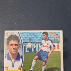 Collezionismo sportivo: VILLA - FICHAJE 5 - ZARAGOZA - 2003 2004 03 04 - CROMO EDICIONES ESTE - NUNCA PEGADO. Lote 226172773
