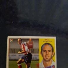 Coleccionismo deportivo: COLSA - ATLETICO DE MADRID - 2002 2003 02 03 - CROMO EDICIONES ESTE - NUNCA PEGADO - BAJA. Lote 226704855
