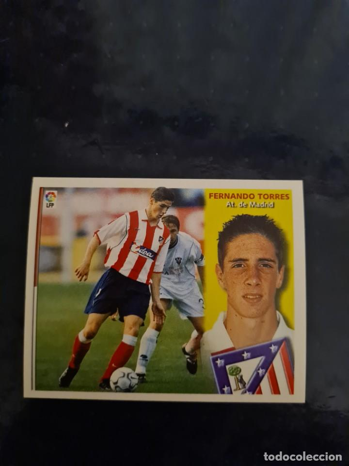 FERNANDO TORRES - ATLETICO DE MADRID - 2002 2003 02 03 - CROMO EDICIONES ESTE - NUNCA PEGADO (Coleccionismo Deportivo - Cromos otros Deportes)