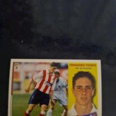 Coleccionismo deportivo: FERNANDO TORRES - ATLETICO DE MADRID - 2002 2003 02 03 - CROMO EDICIONES ESTE - NUNCA PEGADO. Lote 226705000