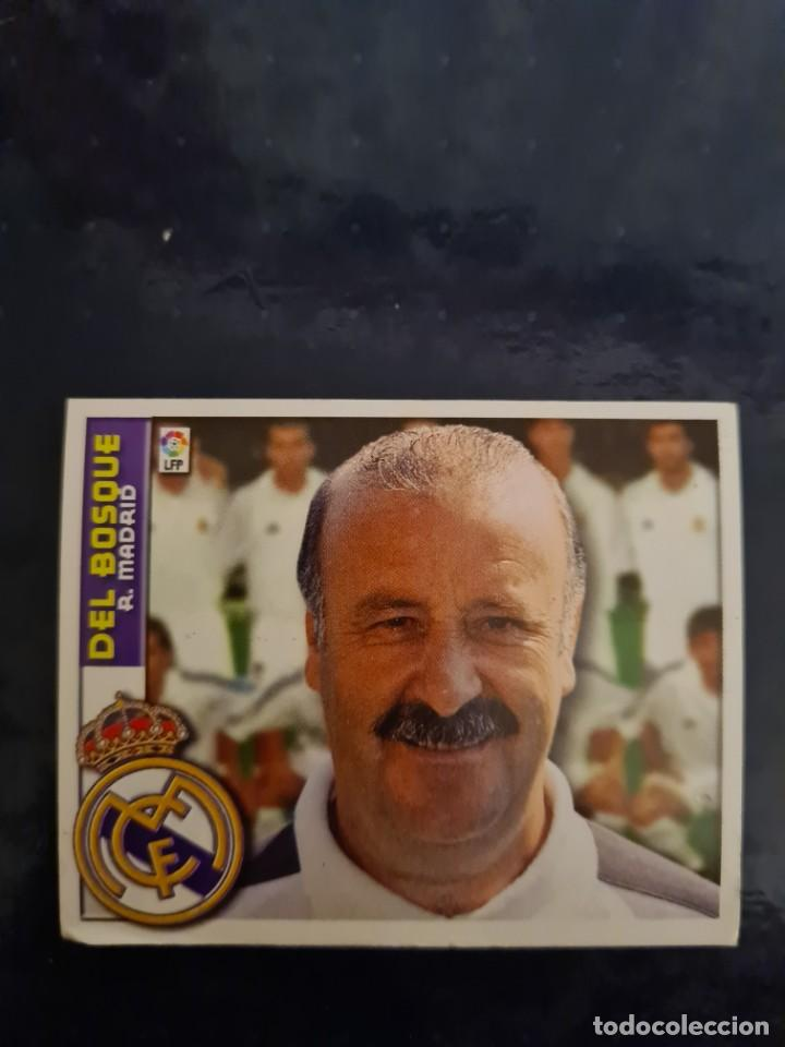 DEL BOSQUE - REAL MADRID - 2002 2003 02 03 - CROMO EDICIONES ESTE - NUNCA PEGADO (Coleccionismo Deportivo - Cromos otros Deportes)