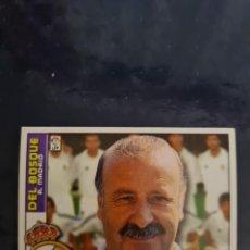 Coleccionismo deportivo: DEL BOSQUE - REAL MADRID - 2002 2003 02 03 - CROMO EDICIONES ESTE - NUNCA PEGADO. Lote 226705307