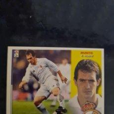 Coleccionismo deportivo: MUNITIS - REAL MADRID - 2002 2003 02 03 - CROMO EDICIONES ESTE - NUNCA PEGADO - BAJA. Lote 226705520
