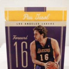 Collezionismo sportivo: PAU GASOL 19 NBA PANINI CLASSICS 2010-11 LOS ANGELES LAKERS. Lote 227785935