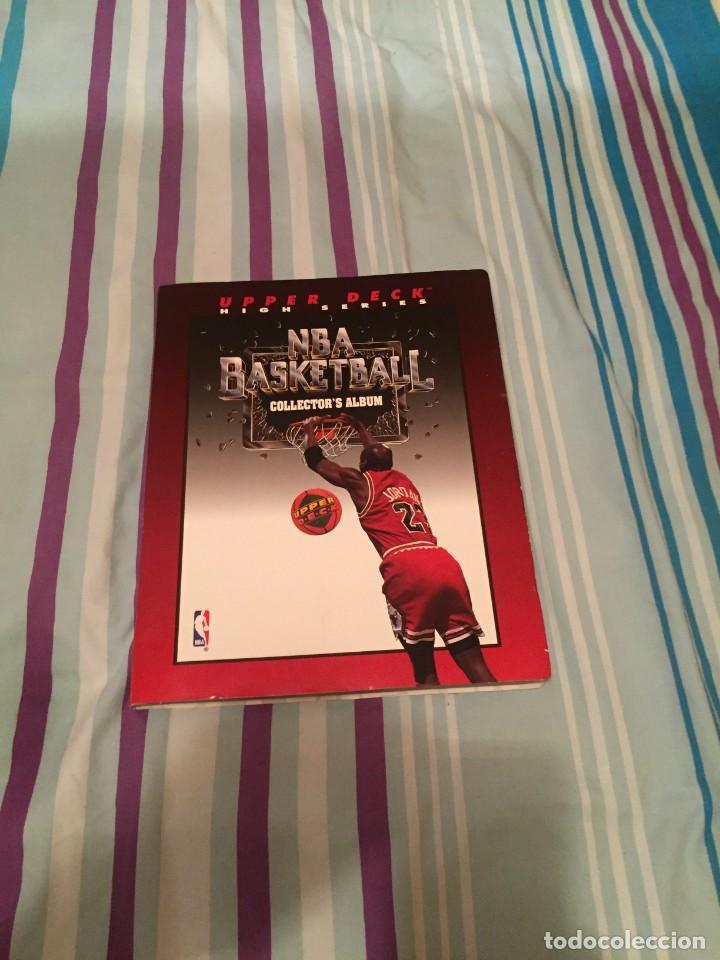 NBA BASKETBALL COLLECTOR´S ALBUN (AÑO 1993) UPPER DECK (Coleccionismo Deportivo - Cromos otros Deportes)