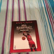 Coleccionismo deportivo: NBA BASKETBALL COLLECTOR´S ALBUN (AÑO 1993) UPPER DECK. Lote 228018475