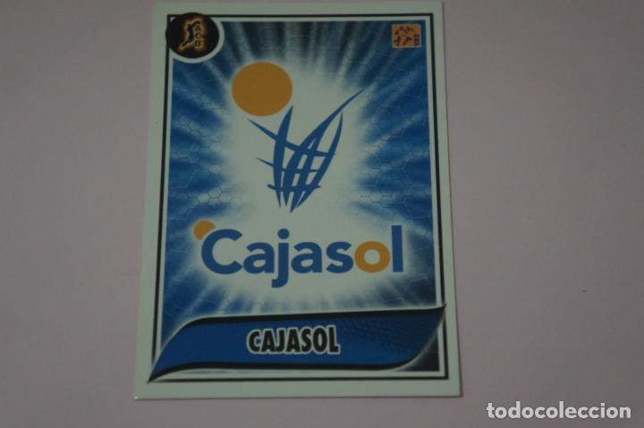 CROMO CARD DE BALONCESTO BASKET ESCUDO DEL CAJASOL Nº 91 LIGA ACB 09-10 PANINI (Coleccionismo Deportivo - Cromos otros Deportes)