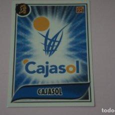 Collezionismo sportivo: CROMO CARD DE BALONCESTO BASKET ESCUDO DEL CAJASOL Nº 91 LIGA ACB 09-10 PANINI. Lote 228113275
