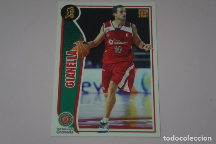 CROMO CARD DE BALONCESTO BASKET GIANELLA DEL C.B. GRANADA Nº 112 LIGA ACB 09-10 PANINI (Coleccionismo Deportivo - Cromos otros Deportes)