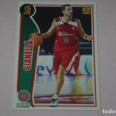 Collezionismo sportivo: CROMO CARD DE BALONCESTO BASKET GIANELLA DEL C.B. GRANADA Nº 112 LIGA ACB 09-10 PANINI. Lote 228114295
