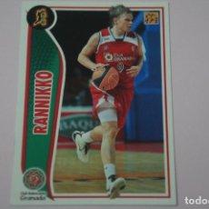 Collezionismo sportivo: CROMO CARD DE BALONCESTO BASKET RANNIKKO DEL C.B. GRANADA Nº 113 LIGA ACB 09-10 PANINI. Lote 228114341