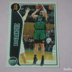 Collezionismo sportivo: CROMO CARD DE BALONCESTO BASKET BOGDANOVIC DEL DKV JOVENTUT Nº 153 LIGA ACB 09-10 PANINI. Lote 228115415