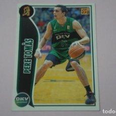 Collezionismo sportivo: CROMO CARD DE BALONCESTO BASKET PERE TOMAS DEL DKV JOVENTUT Nº 154 LIGA ACB 09-10 PANINI. Lote 228115517