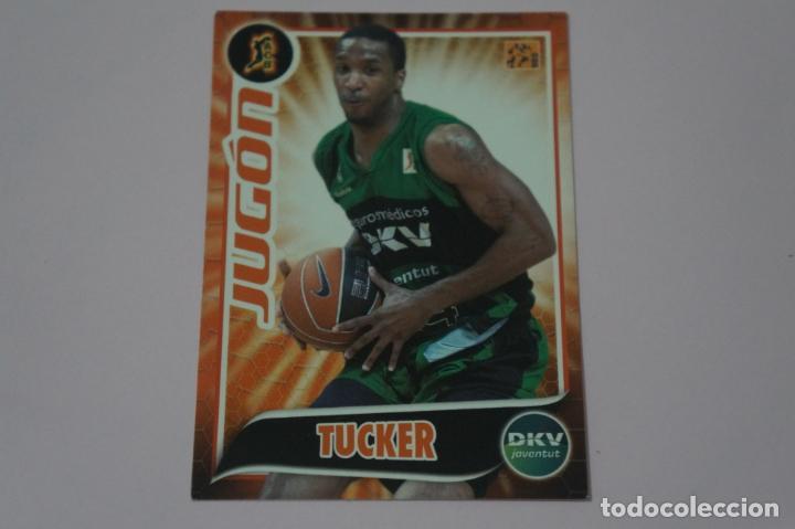 CROMO CARD DE BALONCESTO BASKET TUCKER DEL DKV JOVENTUT Nº 160 LIGA ACB 09-10 PANINI (Coleccionismo Deportivo - Cromos otros Deportes)
