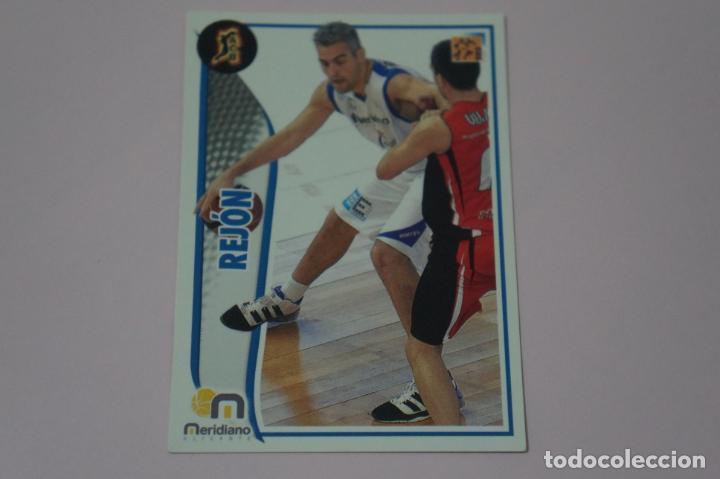 CROMO CARD DE BALONCESTO BASKET REJON DEL MERIDIANO ALICANTE Nº 211 LIGA ACB 09-10 PANINI (Coleccionismo Deportivo - Cromos otros Deportes)