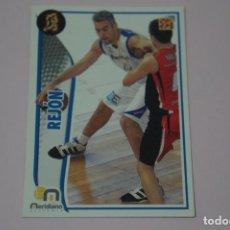Collezionismo sportivo: CROMO CARD DE BALONCESTO BASKET REJON DEL MERIDIANO ALICANTE Nº 211 LIGA ACB 09-10 PANINI. Lote 249521235