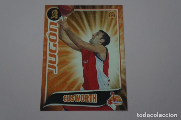CROMO CARD DE BALONCESTO BASKET CUSWORTH DEL SUZUKI MANRESA Nº 286 LIGA ACB 09-10 PANINI (Coleccionismo Deportivo - Cromos otros Deportes)