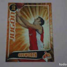Collezionismo sportivo: CROMO CARD DE BALONCESTO BASKET CUSWORTH DEL SUZUKI MANRESA Nº 286 LIGA ACB 09-10 PANINI. Lote 253582310