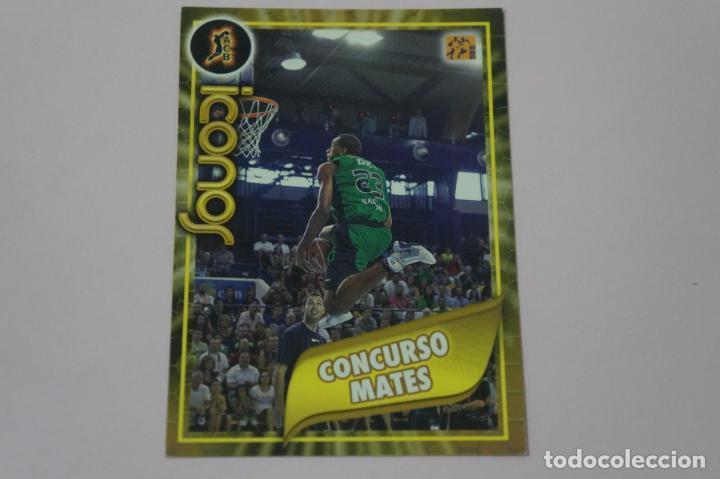 CROMO CARD DE BALONCESTO BASKET CONCURSO MATES Nº 331 LIGA ACB 09-10 PANINI (Coleccionismo Deportivo - Cromos otros Deportes)