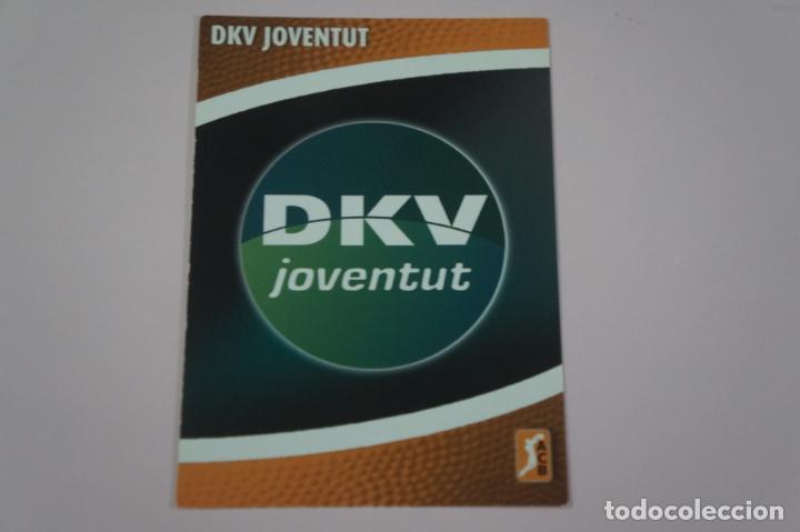 CROMO CARD DE BALONCESTO BASKET ESCUDO DEL DKV JUVENTUT Nº 109 LIGA ACB 08/09 PANINI (Coleccionismo Deportivo - Cromos otros Deportes)