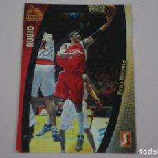 Collezionismo sportivo: CROMO CARD DE BALONCESTO BASKET RUBIO DEL RICOH MANRESA Nº 249 LIGA ACB 08/09 PANINI. Lote 228845530