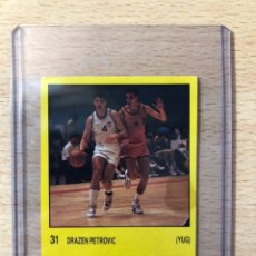 Coleccionismo deportivo: # 31 DRAZEN PETROVIC (YUG) CIBONA MADRID BLAZERS NETS SUPERSPORT 1988 SIN PEGAR BUEN ESTADO. Lote 230289375