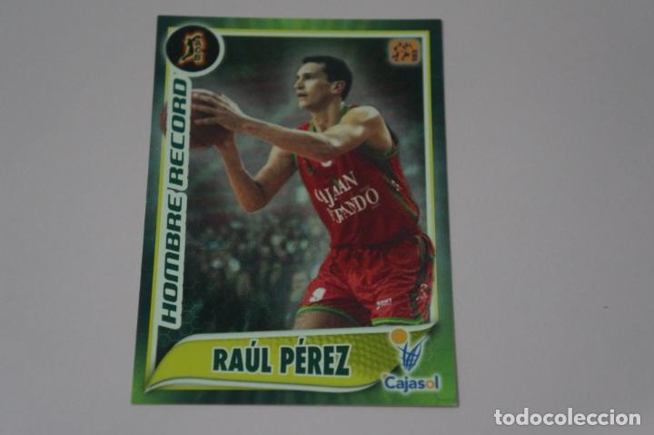 CROMO CARD DE BALONCESTO BASKET RAUL PEREZ DEL CAJASOL Nº 108 LIGA ACB 09-10 PANINI (Coleccionismo Deportivo - Cromos otros Deportes)