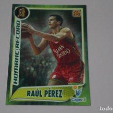 Collezionismo sportivo: CROMO CARD DE BALONCESTO BASKET RAUL PEREZ DEL CAJASOL Nº 108 LIGA ACB 09-10 PANINI. Lote 231445130