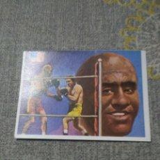 Coleccionismo deportivo: Nº 108 JOHNSON - ASES MUNDIALES DEL DEPORTE ( BOXEO ). Lote 231508275