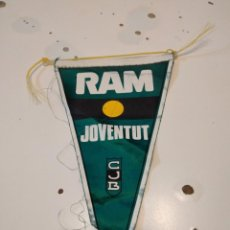 Coleccionismo deportivo: M-4 BANDERIN BALONCESTO RAM JOVENTUT CJB. Lote 233757570