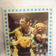 Coleccionismo deportivo: 168. KARIM A. JABBAR (LAKERS) USA. CROMO ALBUM MERCHANTE. Lote 234728550