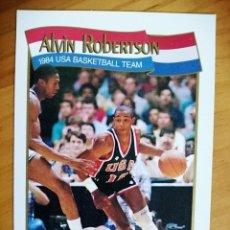 Coleccionismo deportivo: NBA - HOOPS - AÑO 1991 - BALONCESTO, CROMO NUEVO NÚMERO 562 - ALVIN ROBERTSON. Lote 235329315