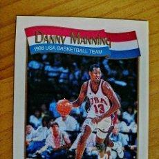 Coleccionismo deportivo: NBA - HOOPS - AÑO 1991 - BALONCESTO, CROMO NUEVO NÚMERO 571 - DANNY MANNING. Lote 235332325